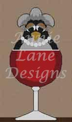 click here to view larger image of Full Bodied Birdeaux, A (hand painted canvases)