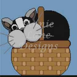 click here to view larger image of Basket Case (hand painted canvases)