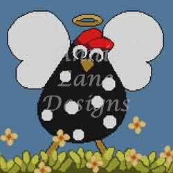 click here to view larger image of Holy Cluck! - Stitch Guide (books)