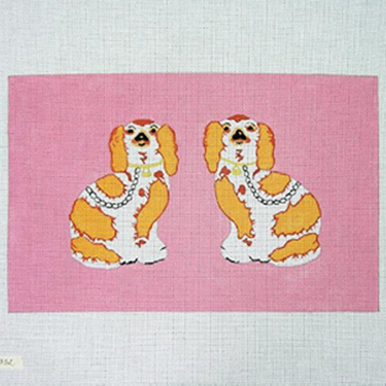click here to view larger image of Staffordshire Dogs (hand painted canvases)
