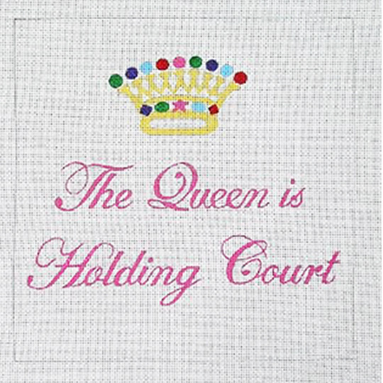 click here to view larger image of Holding Court (hand painted canvases)