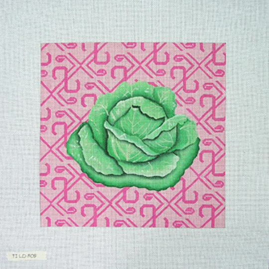 click here to view larger image of Cabbage (hand painted canvases)