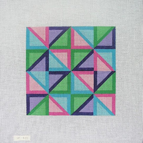 click here to view larger image of Geometric (hand painted canvases)