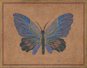 click here to view larger image of Butterfly - Parides Erlaces (hand painted canvases)