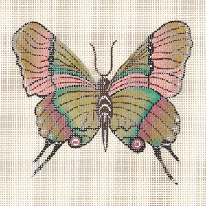 click here to view larger image of Butterfly - Thecla Coronata (hand painted canvases)