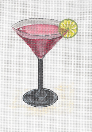 click here to view larger image of Cosmopolitan (hand painted canvases)