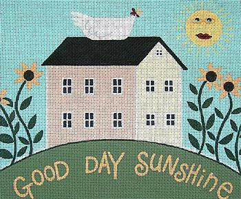 click here to view larger image of Good Day Sunshine (hand painted canvases)