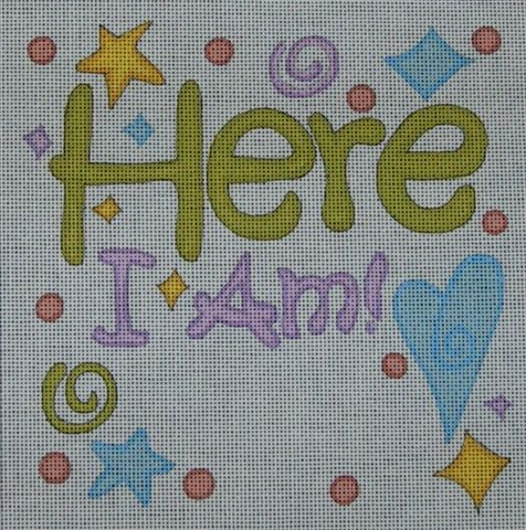 click here to view larger image of Here I Am (hand painted canvases)
