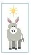 click here to view larger image of Tiny Donkey (hand painted canvases)