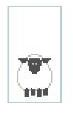 click here to view larger image of Tiny Sheep (hand painted canvases)