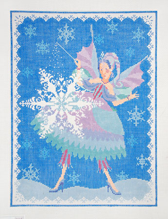 click here to view larger image of Snow Fairy (hand painted canvases)