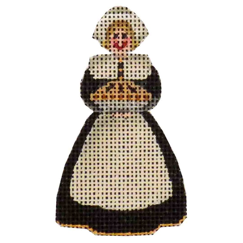 click here to view larger image of Mini Mother Pilgrim (hand painted canvases)
