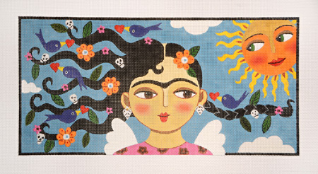 click here to view larger image of La Primavera (hand painted canvases)