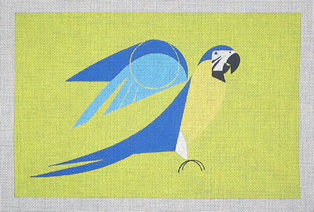 click here to view larger image of Polly Parrot (hand painted canvases)