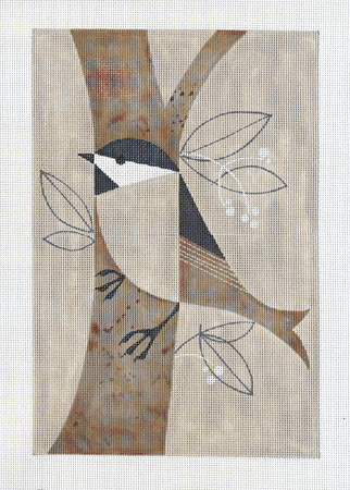 click here to view larger image of Chickadee (hand painted canvases)