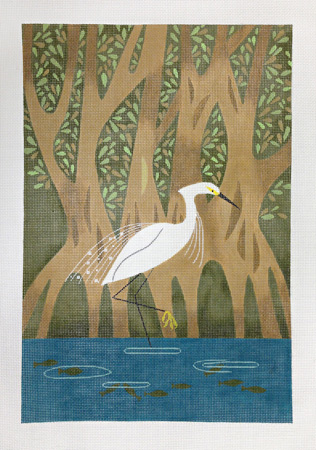 click here to view larger image of Mangrove (hand painted canvases)