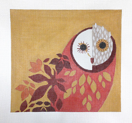 click here to view larger image of Outside Owl (hand painted canvases)