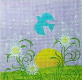 click here to view larger image of Spring Meadow (hand painted canvases)
