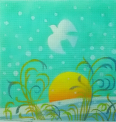 click here to view larger image of Winter Meadow (hand painted canvases)