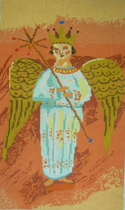 click here to view larger image of Heavenly Angel (hand painted canvases)