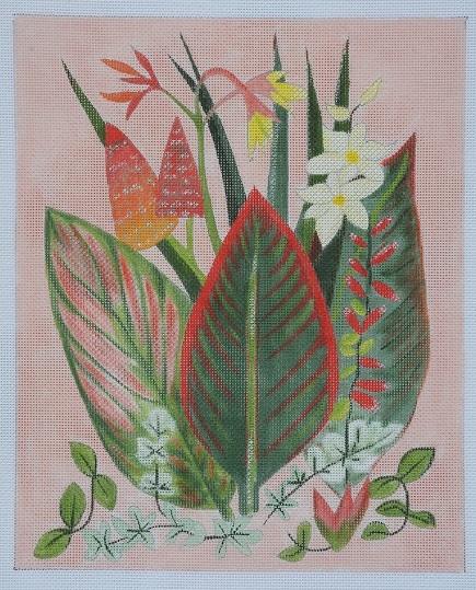 click here to view larger image of Cannas (hand painted canvases)