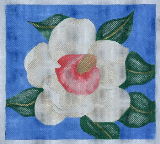 click here to view larger image of Southern Magnolia Blossom (hand painted canvases)