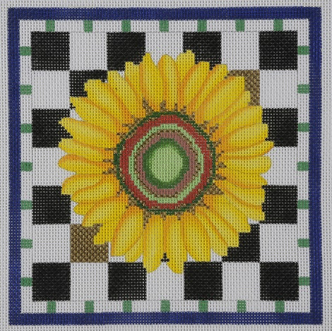 click here to view larger image of Small Sunflower - Stitch Guide (books)