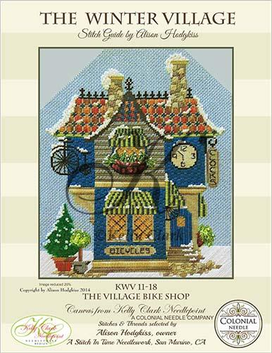 click here to view larger image of Village Bike and Clock Shoppe Stitch Guide (books)