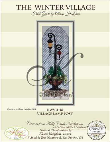 click here to view larger image of Village Lamp Post Stitch Guide (books)