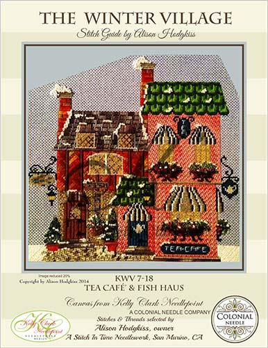 click here to view larger image of Tea Cafe and Fish Haus Stitch Guide (books)