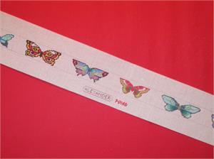 click here to view larger image of Butterfly Belt (hand painted canvases)