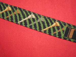 click here to view larger image of Golf Tees Belt (hand painted canvases)