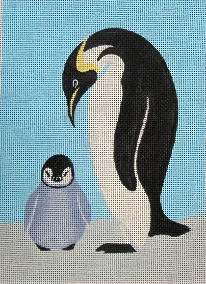 click here to view larger image of Penguins (hand painted canvases)