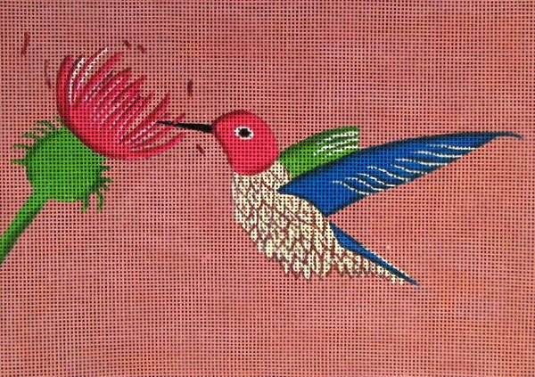 click here to view larger image of Hummingbird (hand painted canvases)