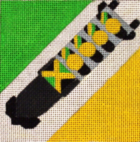 click here to view larger image of Cool Runnings (Maaaan) - Movie Coaster (hand painted canvases)