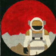 click here to view larger image of The Martian - Movie Coaster (hand painted canvases)