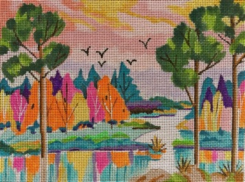click here to view larger image of Everglades Birds (hand painted canvases)