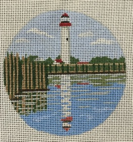 click here to view larger image of Cape May Light - NJ (hand painted canvases)