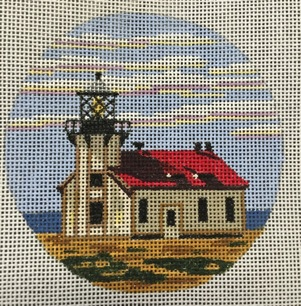 click here to view larger image of Point Cabrillo Light - CA (hand painted canvases)