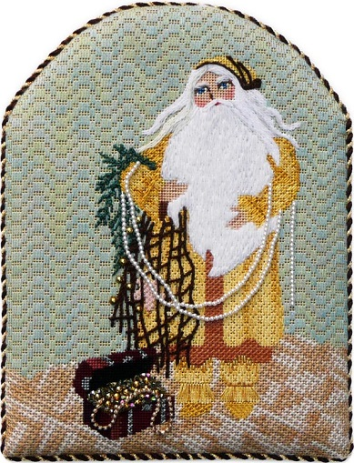 click here to view larger image of Treasure Island Santa - Stitch Guide (books)