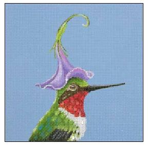 click here to view larger image of Hummer (hand painted canvases)