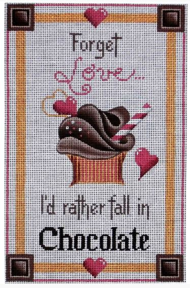 click here to view larger image of Fall in Chocolate (hand painted canvases)