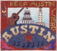 click here to view larger image of Austin Postcard (hand painted canvases)