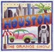 click here to view larger image of Houston Postcard (hand painted canvases)