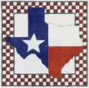 click here to view larger image of Texas Our Texas (hand painted canvases)