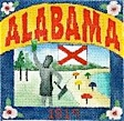 click here to view larger image of Alabama Postcard (hand painted canvases)