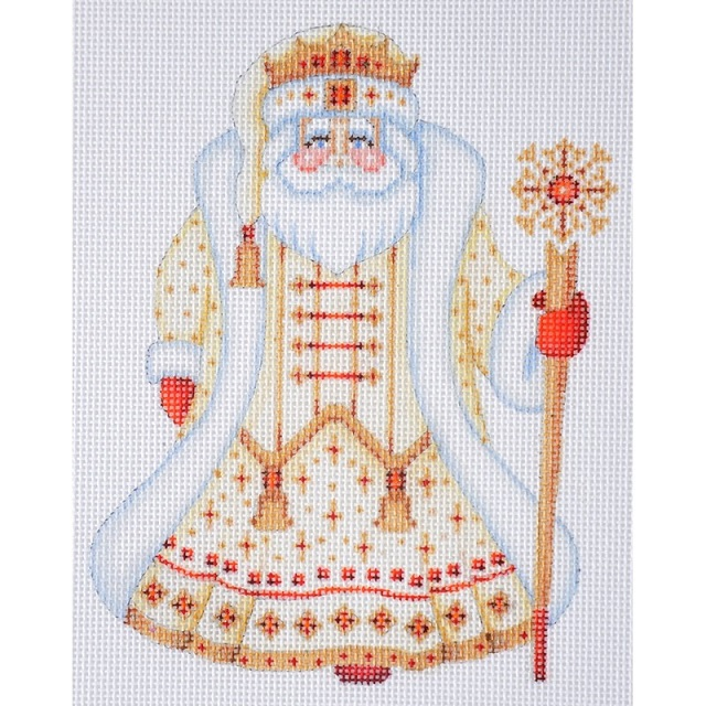 Santa Claus - Gold Robe With Crown - click here for more details