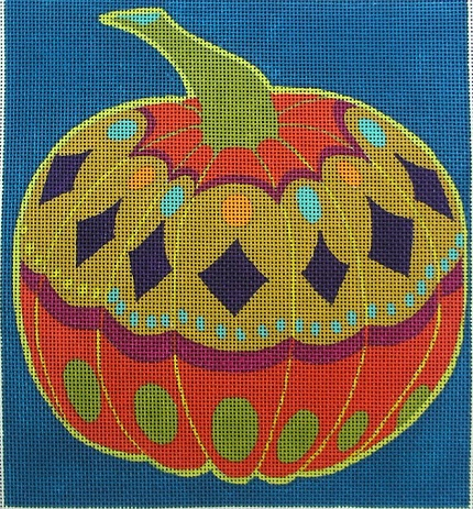 click here to view larger image of Pumpkin - 18ct (hand painted canvases)