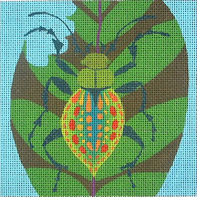 click here to view larger image of Beetle (hand painted canvases)