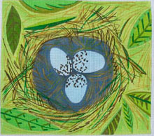 click here to view larger image of Spring - 13ct (hand painted canvases)
